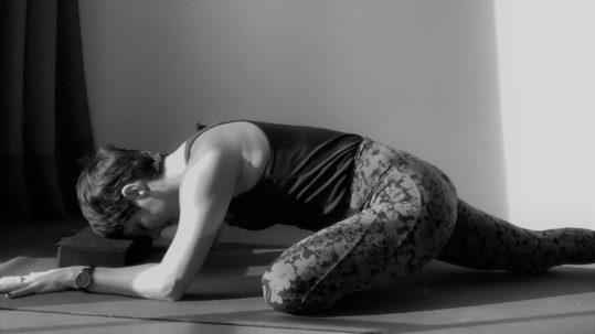 Yin Yoga Swan